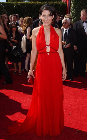 Lisa Edelstein 2007 Emmy Awards