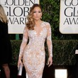 Jennifer Lopez in Zuhair Murad at the 2013 Golden Globe Awards