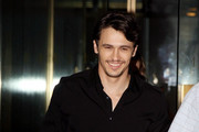James Franco leaves the NBC Today Show.