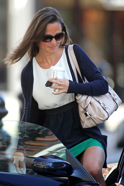 Pippa Middleton Carries An L K Bennett Bag