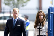 Prince William and Catherine, Duchess of Cambridge visit Summerfield Community Centre in the heart of the Winson Green Community which was badly affected by the riots.