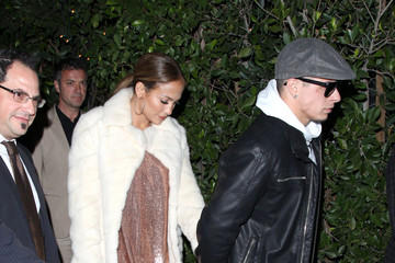 Jennifer Lopez Out with Casper Smart