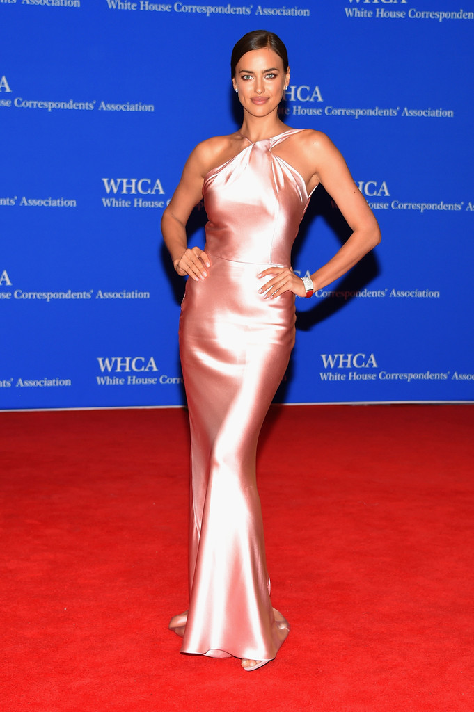 Irina Shayk\'s Halter Gown - Best of 2015: Red Carpet Gowns - Livingly