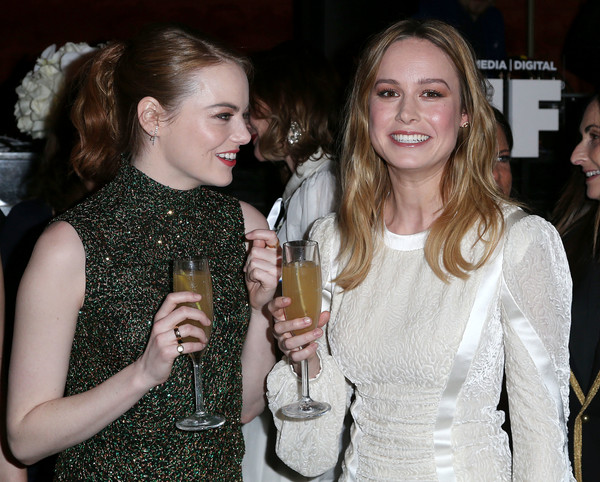 Emma Stone And Brie Larson