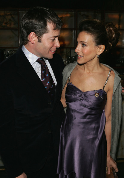 Then: Sarah Jessica Parker and Matthew Broderick