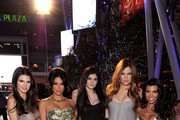 (L-R) Kendall Jenner, Kim Kardashian, Kylie Jenner, Khloe Kardashian and Kourtney Kardashian arrive at the 2011 People's Choice Awards at Nokia Theatre L.A. Live on January 5, 2011 in Los Angeles, California.