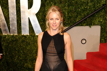 Naomi Watts Wears Zac Posen to Vanity Fair's Oscar Party