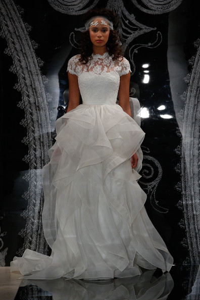 Reem acra bridal spring 2014 the most stunning wedding gowns for reem acra bridal spring 2014 junglespirit