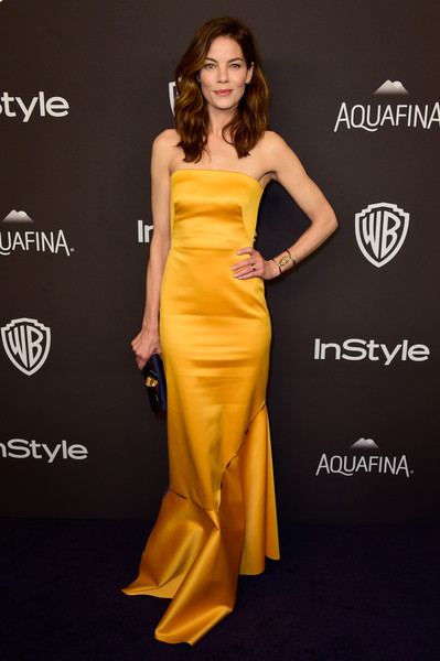 Michelle Monaghan at InStyle and Warner Bros. Golden Globes Party