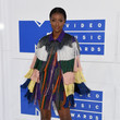 Justine Skye in Colorful Fringe