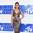 Shelley Hennig in Metallic Cutouts