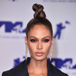 Joan Smalls' Twisted Top Knot at the MTV VMAs