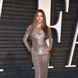 Sofia Vergara in a Sexy Silver Dress