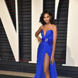 Chanel Iman in Royal Blue