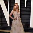 Leslie Mann in Embroidered Tulle