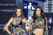 Models Alessandra Ambrosio and Lily Aldridge walk the runway during the 2017 Victoria's Secret Fashion Show In Shanghai at Mercedes-Benz Arena on November 20, 2017 in Shanghai, China.