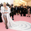 When She Wore A Sparkly Fur Coat To The Met Gala