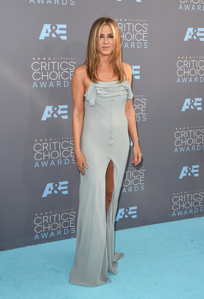In Saint Laurent At The 2016 Critics' Choice Awards