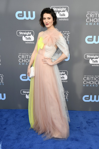 Mary Elizabeth Winstead in Delpozo