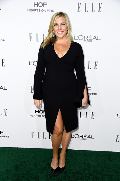 June Diane Raphael in a Long Sleeve LBD