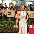 Felicity Huffman in Ivory Cutouts