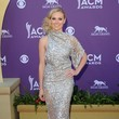 Laura Bell Bundy In Jean Fares Couture At The ACM Awards, 2012
