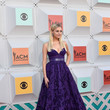 Kelsea Ballerini In A Purple Ballgown, 2016