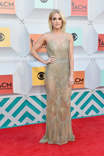 Carrie Underwood In Davidson Zanine, 2016