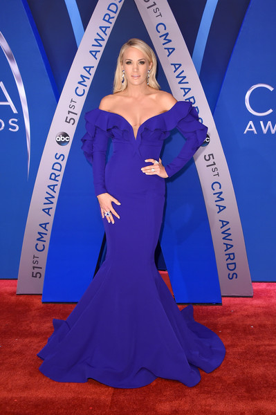 Carrie Underwood In Fouad Sarkis Couture At The CMA Awards, 2017