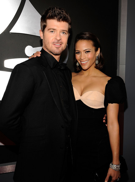 Robin Thicke & Paula Patton, 2009