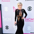 Savannah Chrisley In Sheer Black, 2017