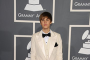 Singer Justin Bieber arrives at The 53rd Annual GRAMMY Awards held at Staples Center on February 13, 2011 in Los Angeles, California.