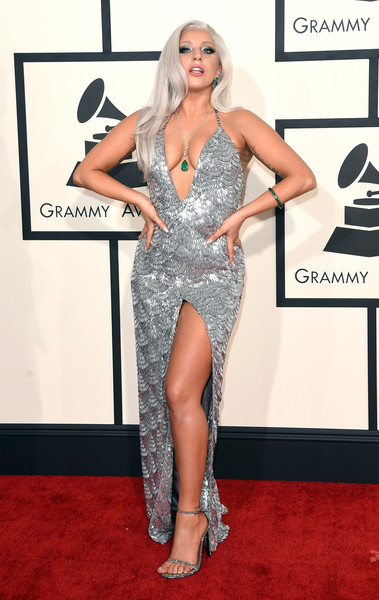 Lady Gaga 2015 Grammy Awards The Only Grammy Dresses You Need To Remember Livingly