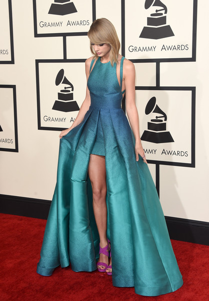 Elie Saab at the 2015 Grammy Awards