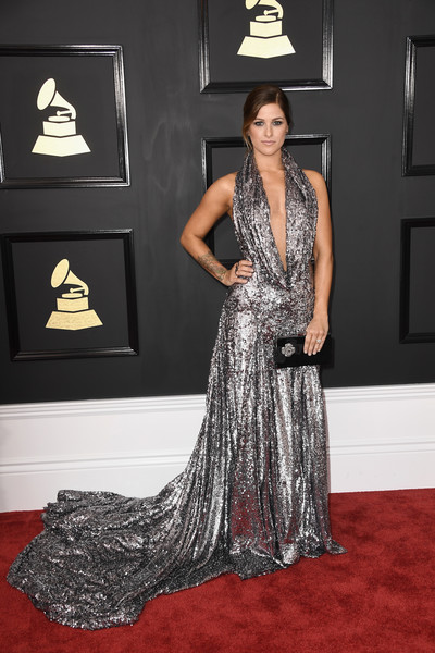 Cassadee Pope At The Grammy Awards, 2017