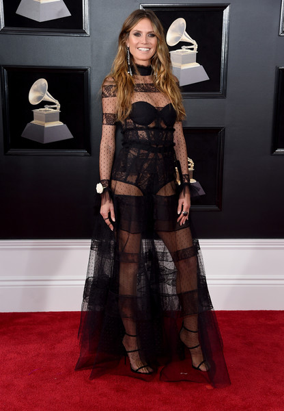 Heidi Klum in Ashi Studio at the Grammy Awards