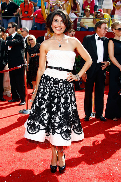 Lisa Edelstein 2008 Emmy Awards