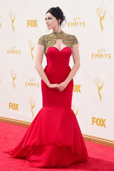 Laura Prepon at the 2015 Emmy Awards