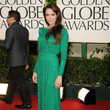 Sparkling In Green Atelier Versace At The 2011 Golden Globes