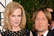 Actress Nicole Kidman (L) and singer Keith Urban arrive at the 70th Annual Golden Globe Awards held at The Beverly Hilton Hotel on January 13, 2013 in Beverly Hills, California.