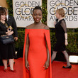 Lupita Nyong'o in Ralph Lauren at the 2014 Golden Globe Awards
