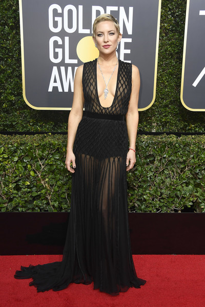 Kate In Valentino Couture For The Golden Globes, 2018
