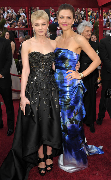 Maggie Gyllenhaal And Carey Mulligan, 2010