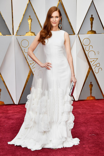 Darby Stanchfield in Artistic White