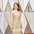 Emma Stone in Gold Fringe