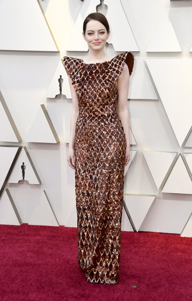 Emma Stone At The 2019 Oscars