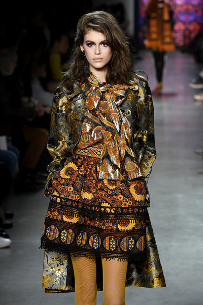 Anna Sui At NYFW, Fall 2018