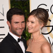Adam Levine And Behati Prinsloo
