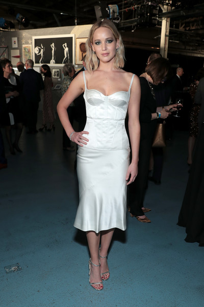 When She Rocked A Structured White Number At A NYC Gala