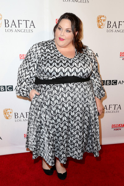Bold Prints at BBC America BAFTA TV Tea Party